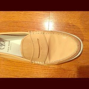 Cole Haan patent leather loafers/boatshoes